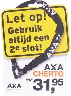 AXA 2e slot actiepakket Axa - 2x raamsticker + promotiekaart