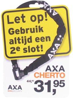 2e slot actiepakket Axa - 2x raamsticker + promotiekaart