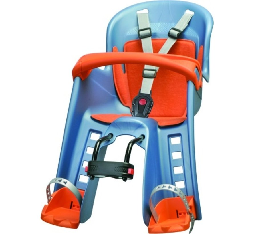 Kinderzitje voor Polisport Bilby-JR - blauw / oranje