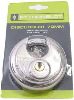 Pythonslot discusslot 10x70mm - chroom