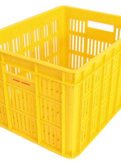 EDGE Fietskrat Edge Urban Crate - Medium - 26Liter - Geel
