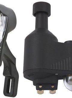 SPANNINGA Koplamp Spanninga Galeo XDO inclusief JS8 dynamo met kabel