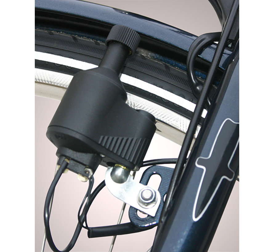 Koplamp Spanninga Galeo XDO inclusief JS8 dynamo met kabel