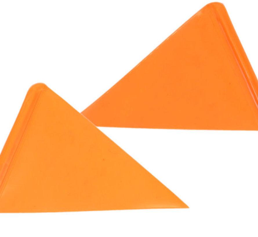 Fietsvlag Bike Fun deelbaar - oranje