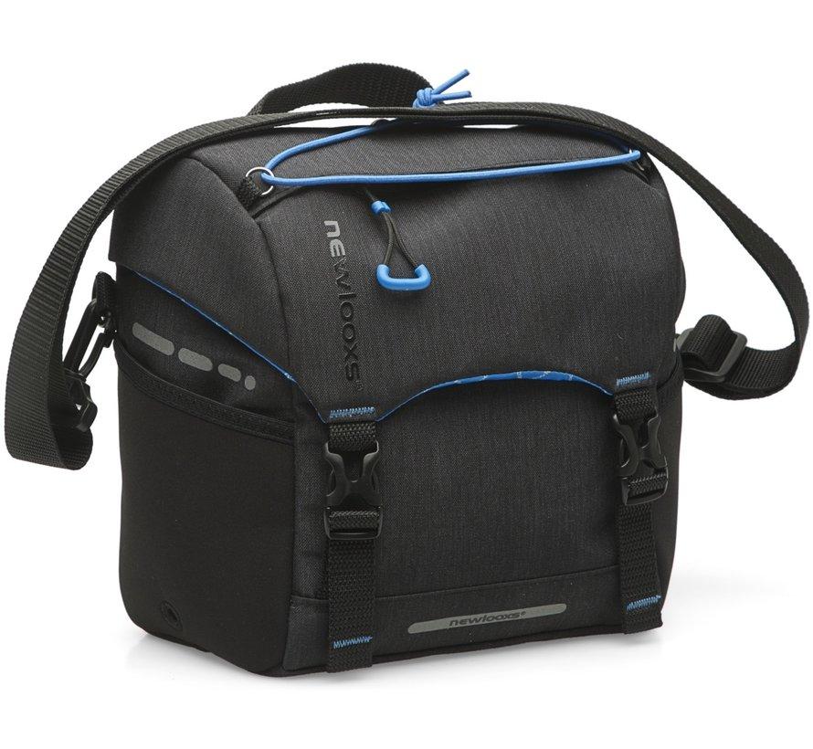 Stuurtas New Looxs KLICKfix Handlebar Bag Black - 7,5 liter