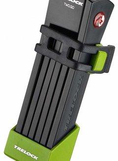 TRELOCK Vouwslot Trelock FS 200/75 Two.Go - Groen