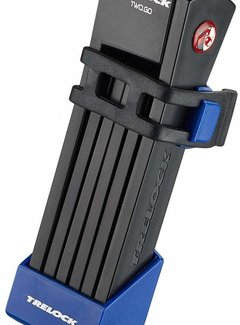 TRELOCK Vouwslot Trelock FS 200/75 Two.Go - Blauw