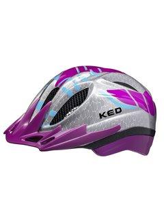 Reflecterende Fietshelm KED Meggy K-Star® S/M (49-55cm) - violet