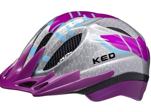KED Reflecterende Fietshelm KED Meggy K-Star® S/M (49-55cm) - violet