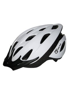 Fietshelm QT Cycle Tech White Pearl (54-58 cm)