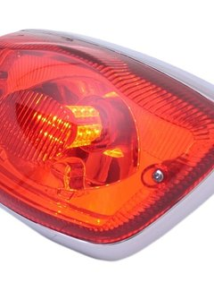 EDGE Achterlicht Led-Special Vespa LX-50/125/150 - rood glas