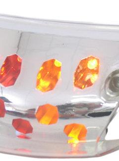EDGE Achterlicht 'Led' + richtingaanwijzer Edge Piaggio Zip 2000 - met helder glas