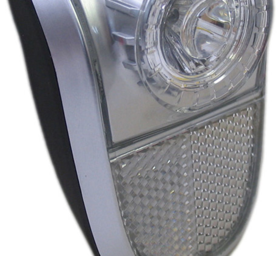 Koplamp Marwi Mobile 1-led - zwart/zilver