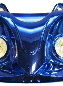 EDGE Koplamp Gilera runner 4x halogeen lamp tot bj. 2005 blauw