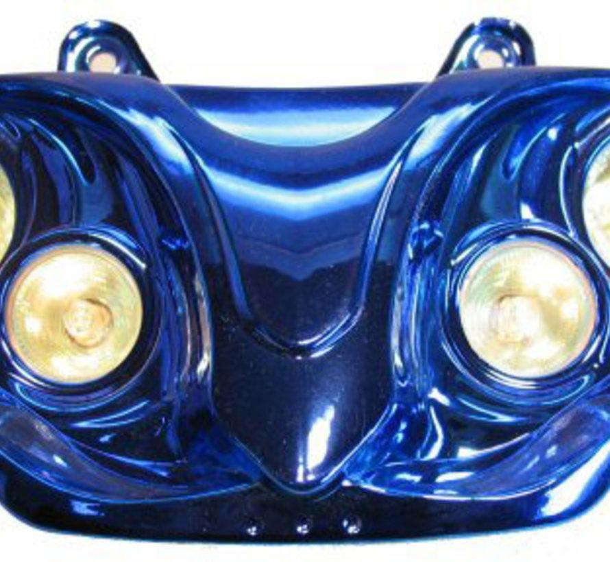 Koplamp Gilera runner 4x halogeen lamp tot bj. 2005 blauw