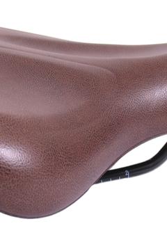 Fietszadel Knus E-Bike met handgreep - model 1 - bruin