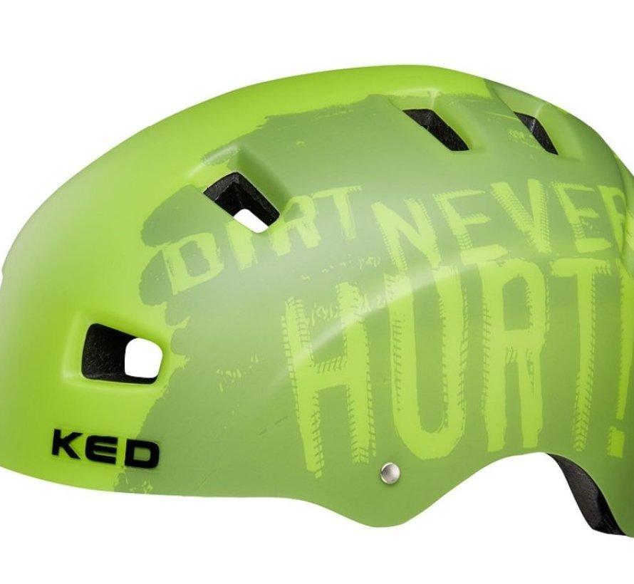 Fietshelm KED 5Forty L (57-62cm) - dirt green