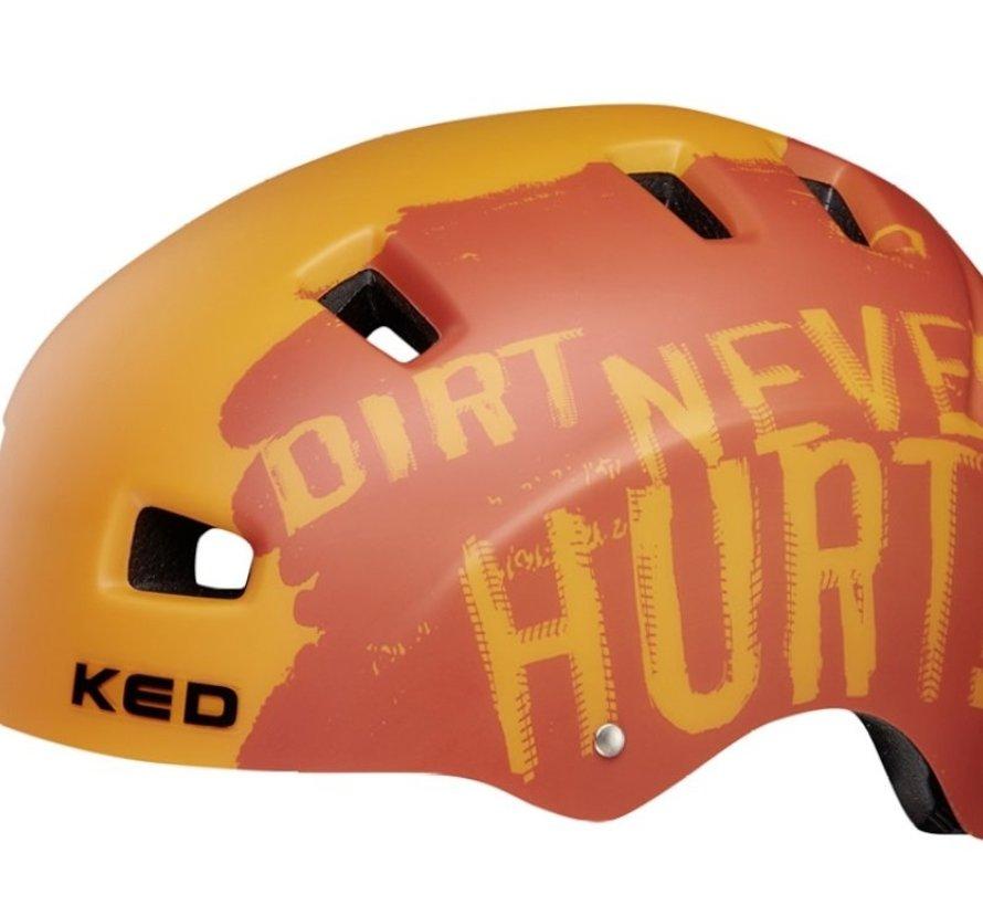 Fietshelm KED 5Forty L (57-62cm) - dirt orange