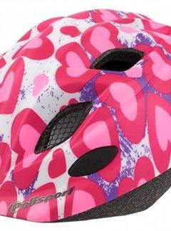 POLISPORT Fietshelm Polisport Kids Premium - S (52-56cm) - Glitter Hearts