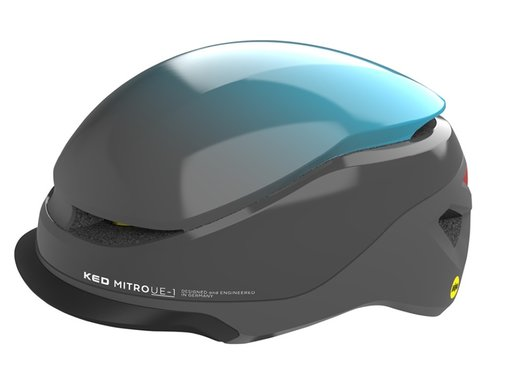 KED Fietshelm KED Mitro UE-1 L (58-61cm) - blauw / grijs