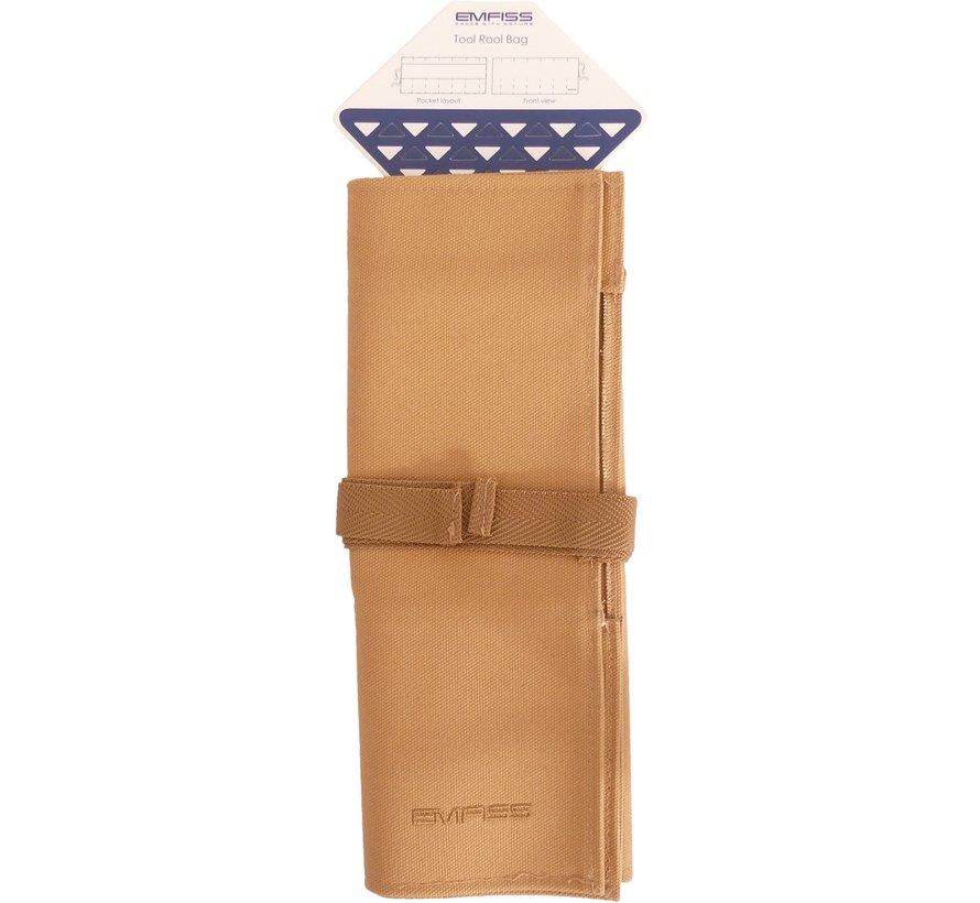 Emfiss Toll Roll Bag - Canvas Bruin