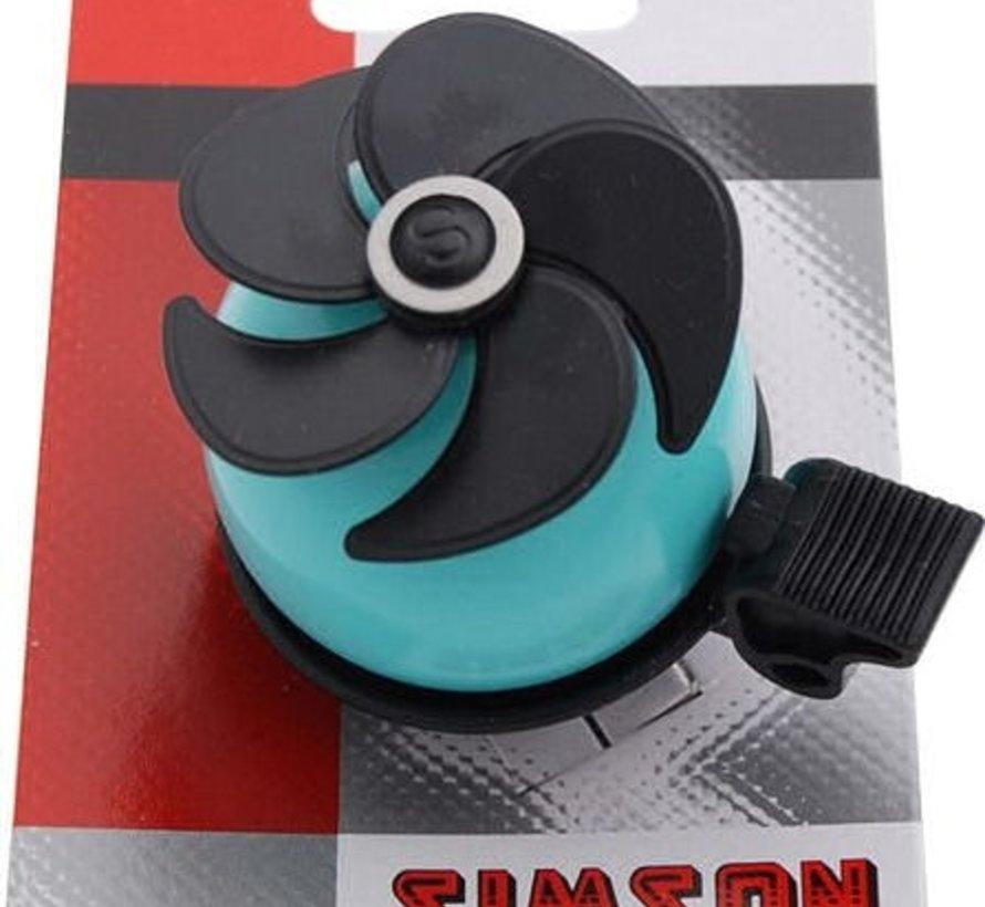 Simson Bel AIR - turquoise/zwart