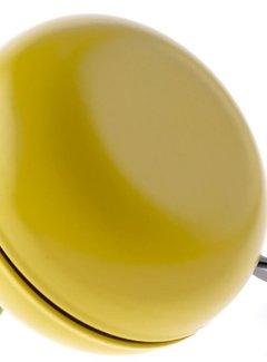 NIET VERKEERD Fietsbel Niet Verkeerd Ding Dong Chardonnay Yellow 80 mm - mat geel