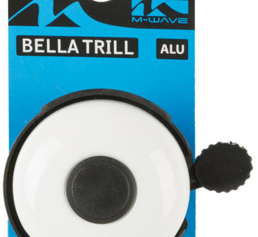 Fietsbel M-Wave Bella Trill - wit