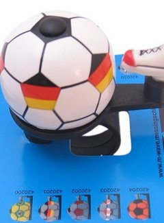 M-WAVE Fietsbel Voetbal Duitsland