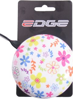 EDGE Fietsbel Edge Ding-Dong ø80mm - Bloemen