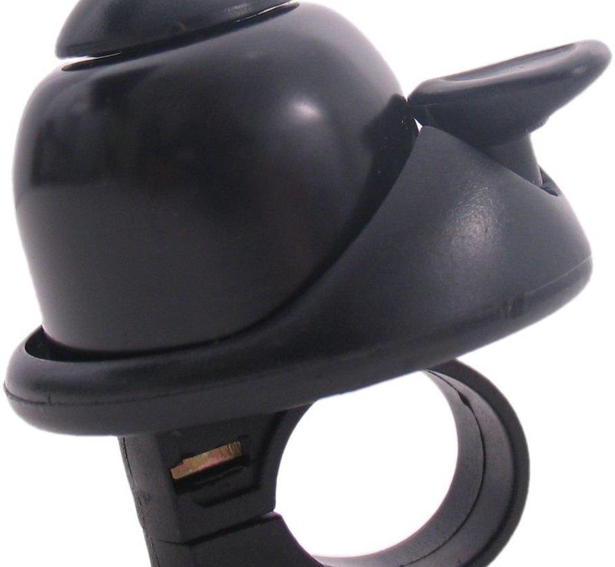 Fietsbel Edge Bella Design Mini - zwart