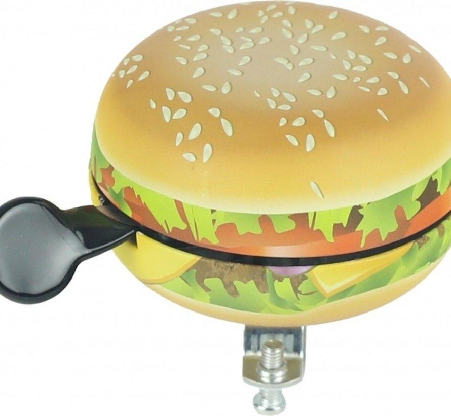 Fietsbel Widek Ding Dong Food hamburger (op kaart)