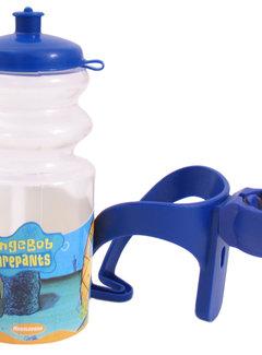 WIDEK Bidon met houder Spongebob - blauw