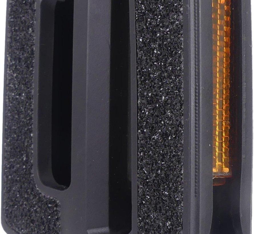 Pedaalset Edge Comfort Luxe - Anti slip - Zwart