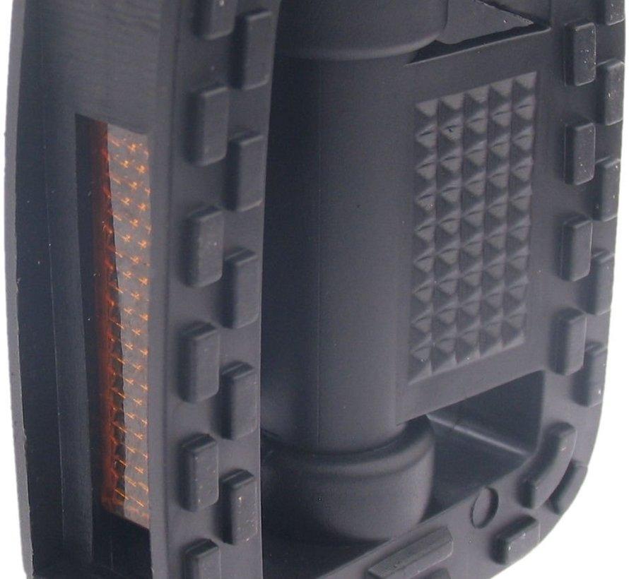 Pedaalset Edge Comfort anti-slip - zwart