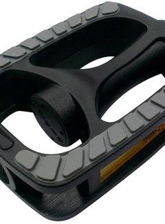 MARWI Pedaalset Marwi Anti-Slip Zwart met grijze non-slip inlay