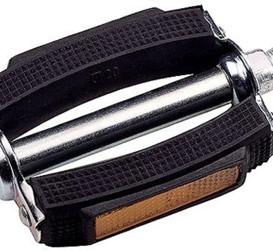 Pedaalset Marwi 687H Classic PVC - zwart