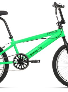 "ROYAL Freestyle BMX 20"" Royal Bugatti  - neon groen met zwarte banden"
