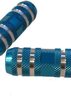 "EDGE Voetsteunset Edge Freestyle op 80 mm 3/8"" as - blauw"