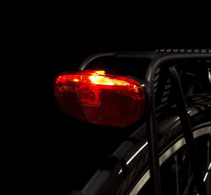 Dragerachterlicht Spanninga Duxo XDS voor dynamo (op kaart)