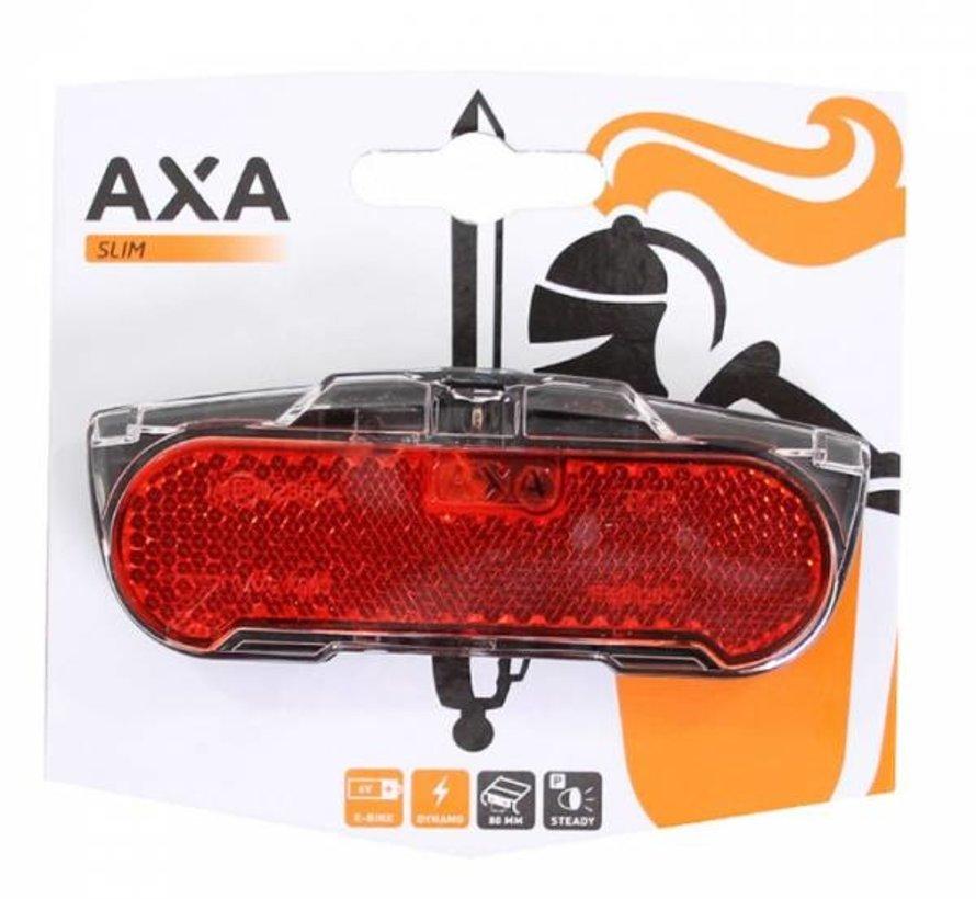 Achterlicht AXA Slim Steady 80mm (op kaart)