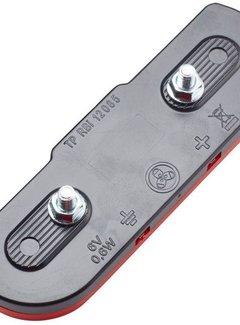 TRELOCK Dragerachterlicht Trelock LS 614 Duo Flat Signal dynamo 50 mm - remlichtfunctie