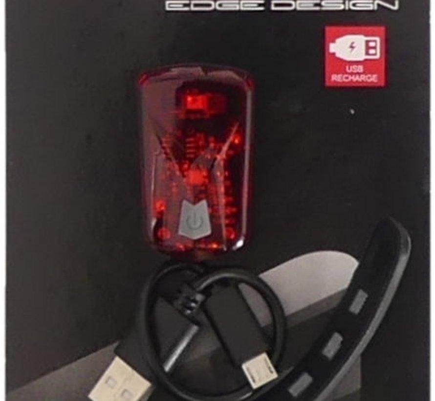 Achterlicht Edge Razor - Led - USB
