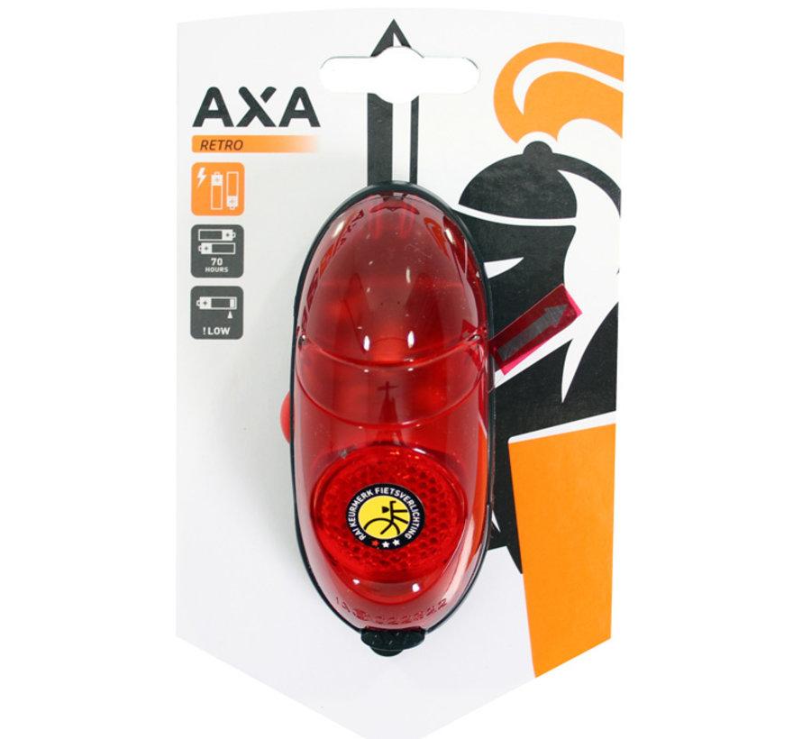 Achterlicht Axa Retro Batterij (op kaart)