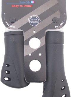EDGE Handvatset Edge Ergo Venti - 125/92mm - zwart