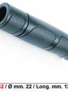 PRO GRIP Handvat Pro Grip sportief lang met snijrand - zwart (per stuk)