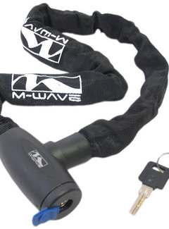 M-WAVE Kettingslot M-Wave ø6*6*850 zwart