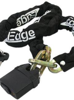 EDGE Kettingslot Edge Power 120cm- ø10mm - zwart