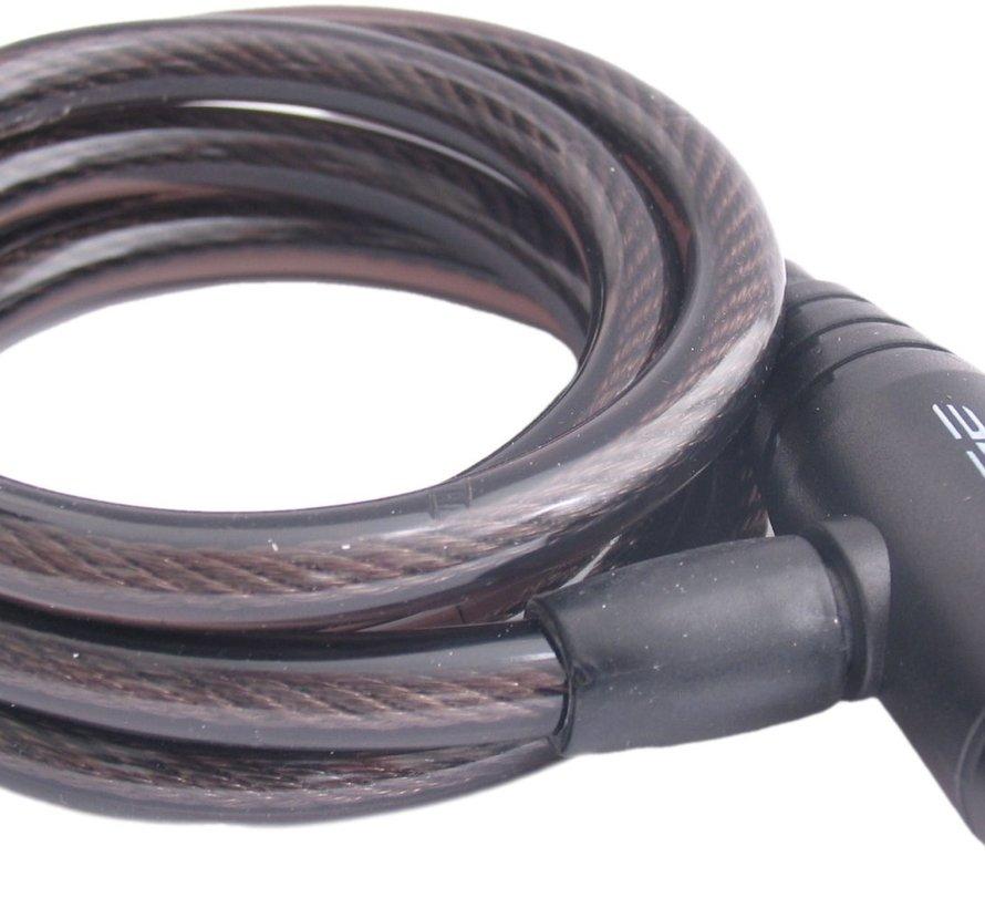 Spiraalslot Edge Wired 100 - ø10*1500 - Zwart
