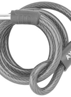 AXA Slotkabel Axa RLE 150/10 met houder - zwart (op kaart)
